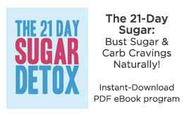21 day sugar detox daily guide