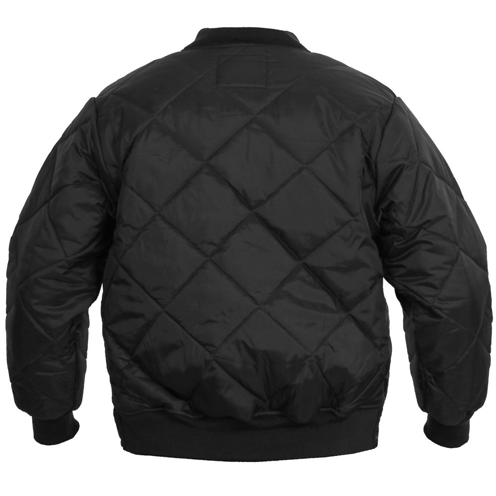 dickies diamond quilted nylon jacket size guide