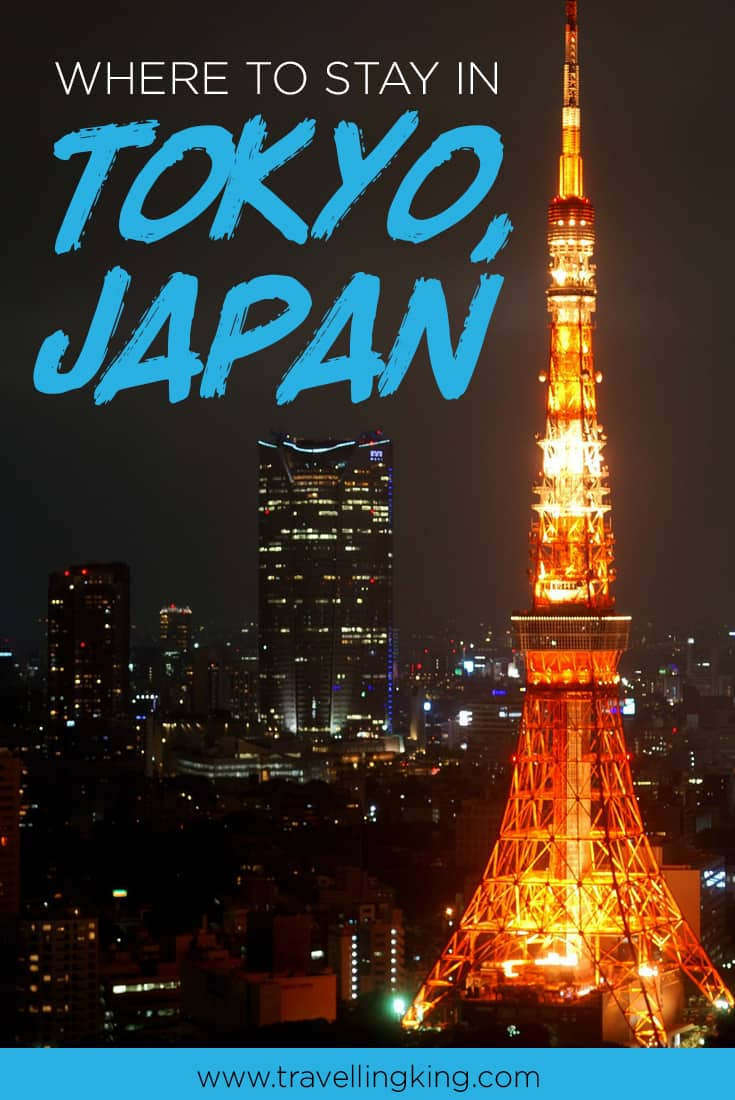 rough guide where to stay in tokyo