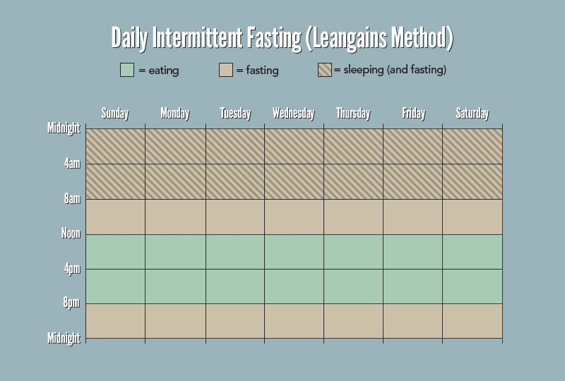 intermittent fasting for muscle gains guide