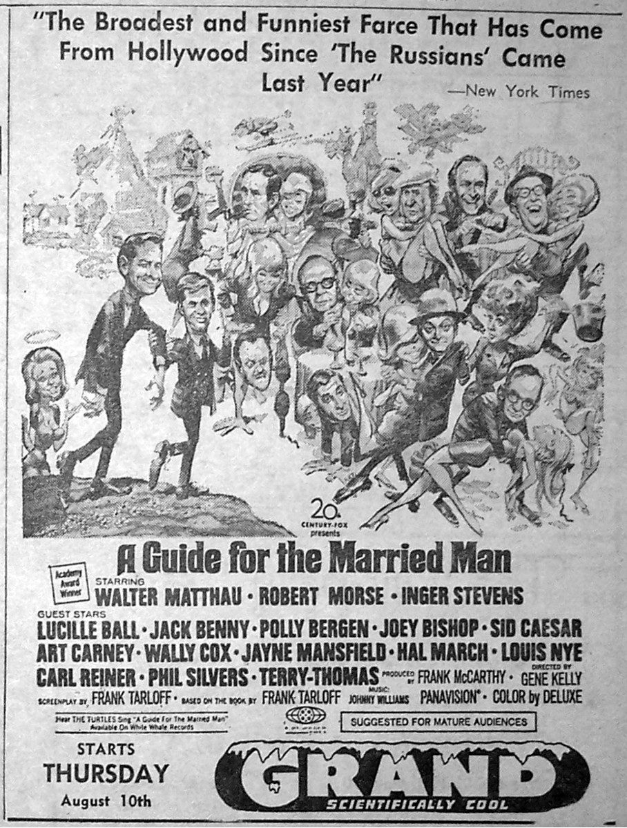 a guide for the married man film