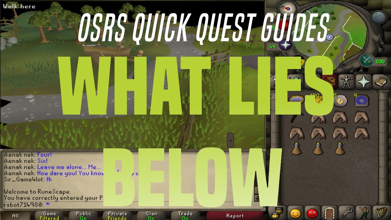 rs3 what lies below quick guide