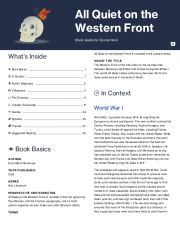 all quiet on the western front study guide glencoe answers