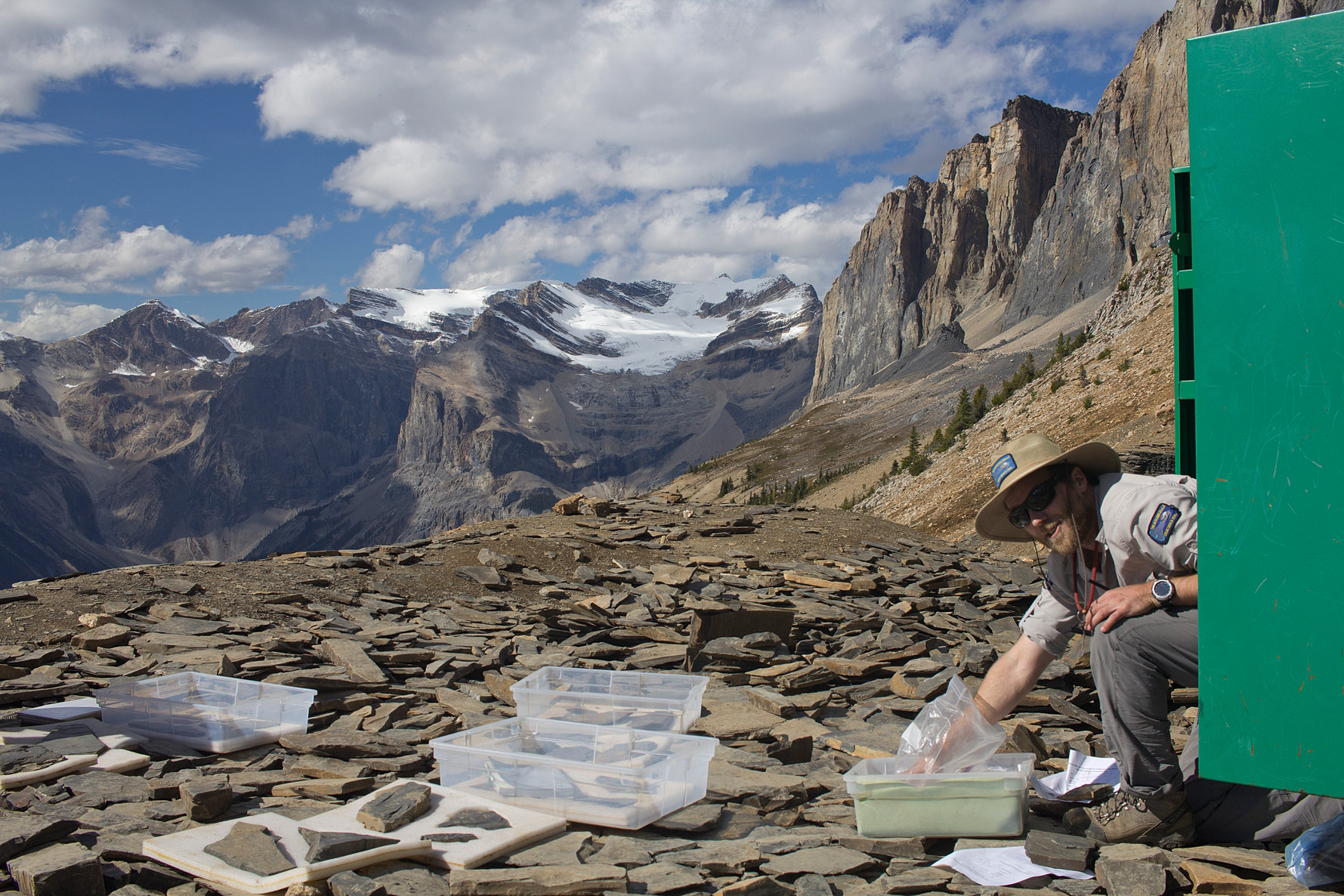 be a hiking guide burgess shale