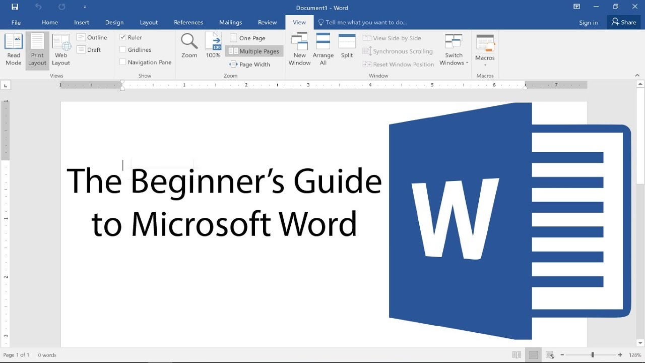 free ms word study guide