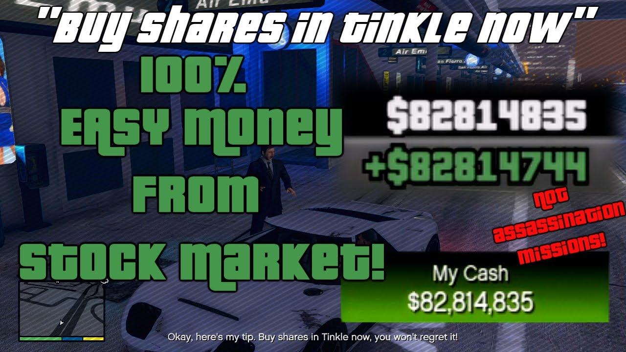 gta v stock market guide without lester