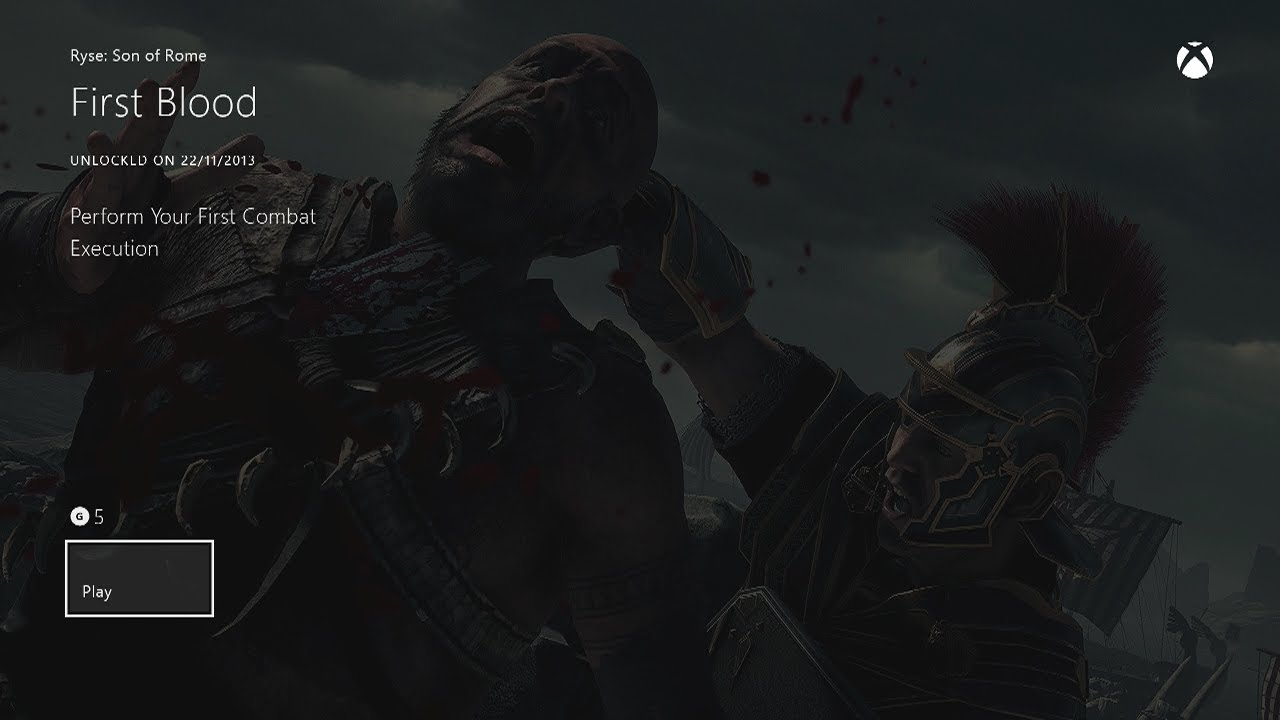 ryse son of rome achievements guide