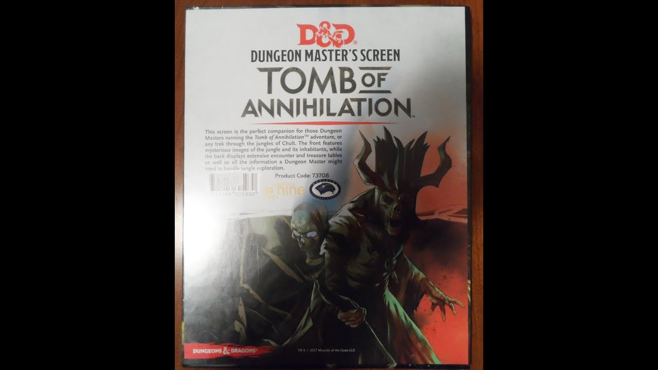 tomb of annihilation dm guide